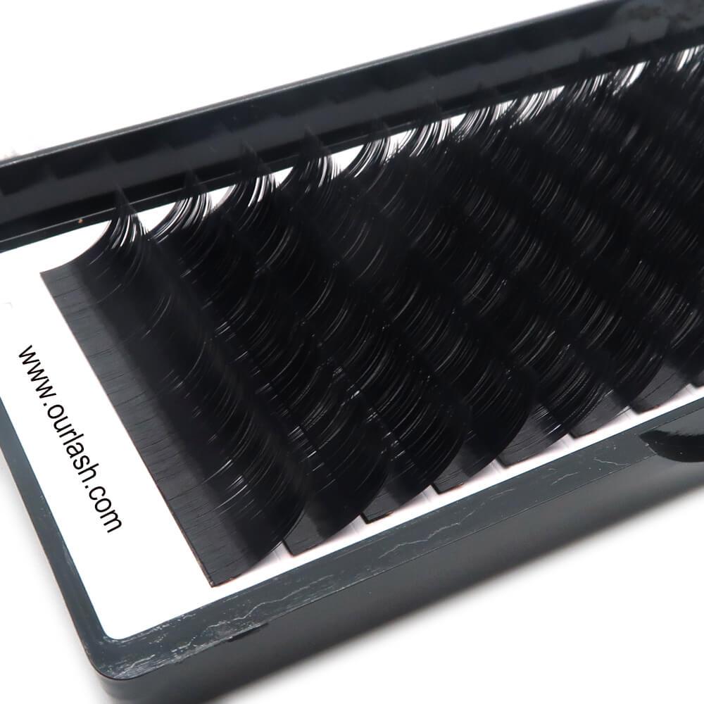 Korean Lash Factory 0 07mm Korean PBT Fiber Silk Eyelash