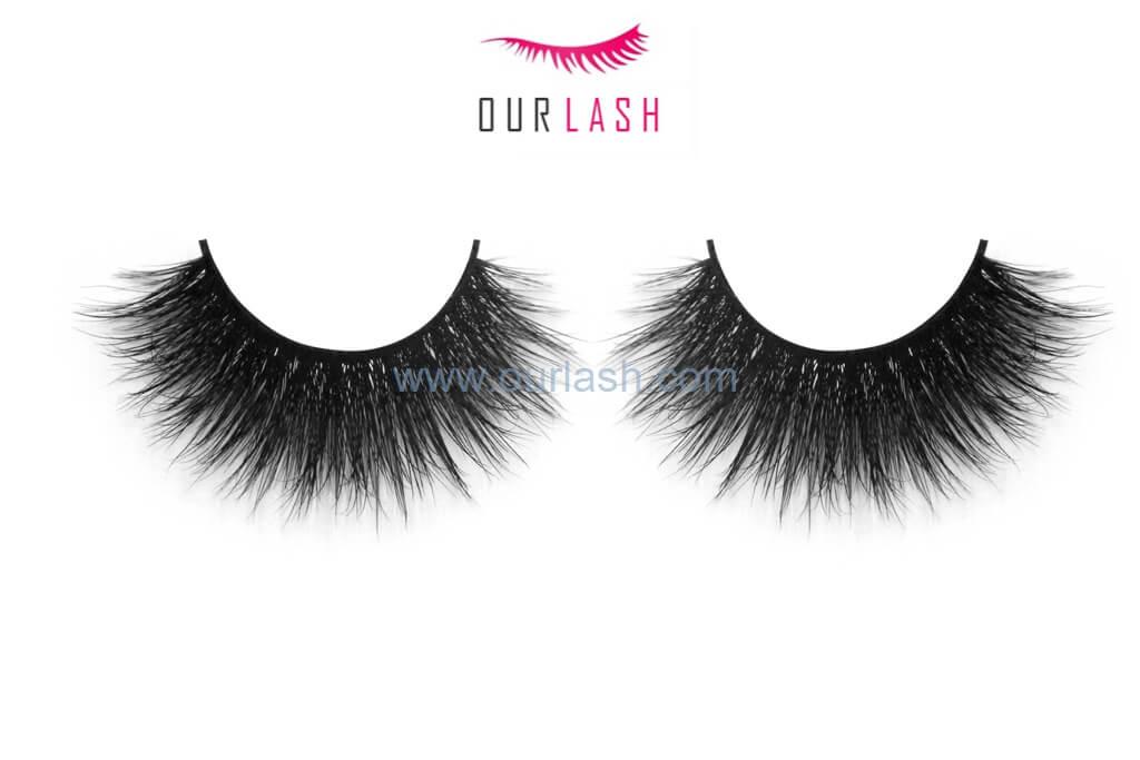 Best Brand False Eyelashes 100% Mink #A247 - Our Lash