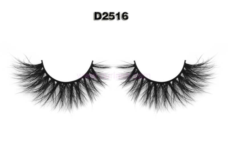 Half Band Eyelashes 3D Mink Eyelashes Wholesale China D2509